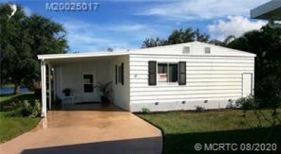 Mobile Home at 17 Santa Maria Court Port Saint Lucie, FL 34952