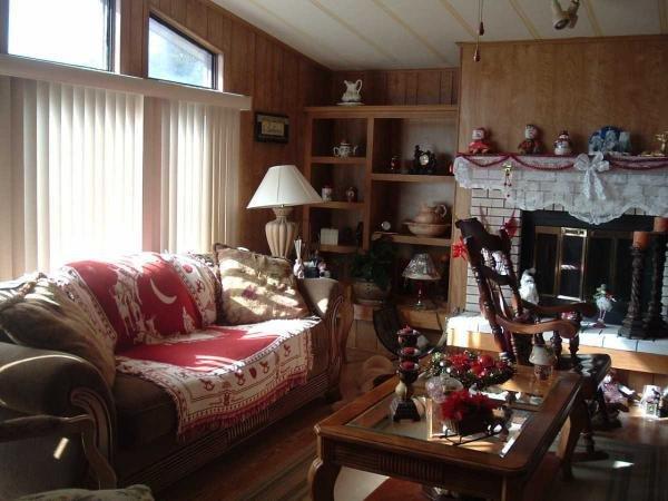 Senior retirement living 1982 celt manufactured home for for Living room of satoshi tax