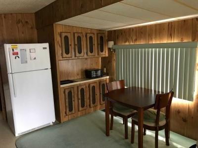 dinette adjacent to kitchen