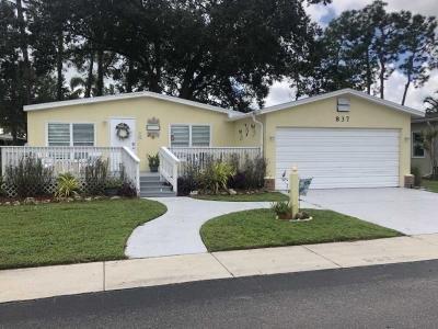 Mobile Home at 837 Via Del Sol North Fort Myers, FL 33903