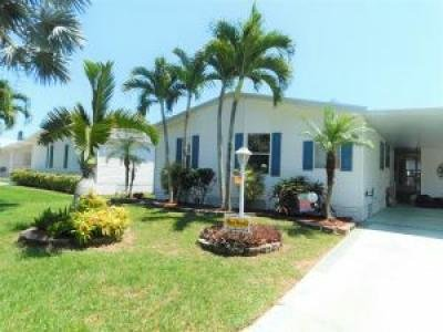 Mobile Home at 373 Seahorse Terr Fort Pierce, FL 34982