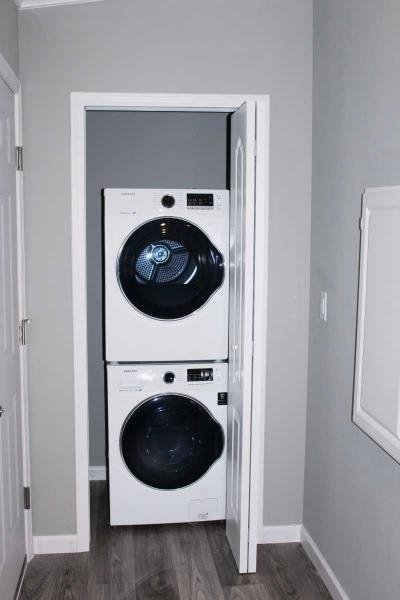 Front Load Washer / Dryer Included