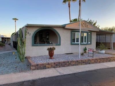 Mobile Home at 8103 E Southern Av  #187 Mesa, AZ 85209
