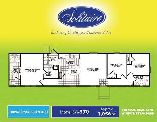 2017 SOLITAIRE Mobile Home For Rent