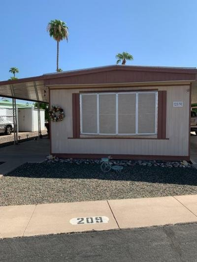 Mobile Home at 303 S Recker #209 Mesa, AZ 85206
