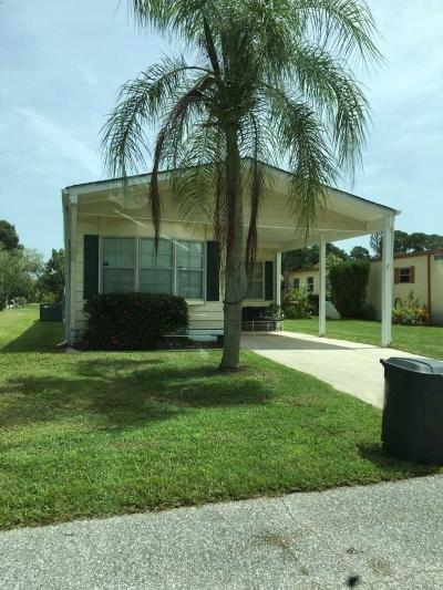 Mobile Home at 21 Iberian Lane Port Saint Lucie, FL 34952
