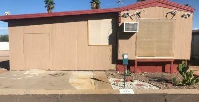 Mobile Home at 701 S. Dobson Rd. Lot 683 Mesa, AZ 85202
