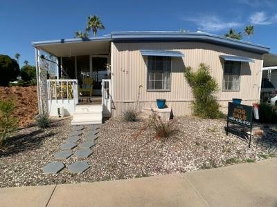 Mobile Home at 3300 E. Broadway Rd. #142 Mesa, AZ 85204