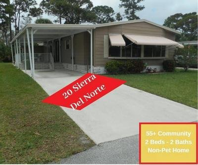 Mobile Home at 20 Sierra Del Norte Fort Pierce, FL 34951