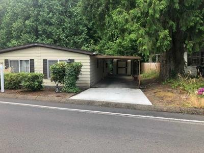 Mobile Home at 100 Sw 195Th Ave #190 Beaverton, OR 97006