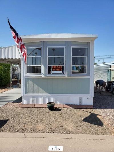 Mobile Home at 7807 E Main St.  Lot C20 Mesa, AZ 85207
