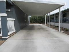 Long Covered Carport
