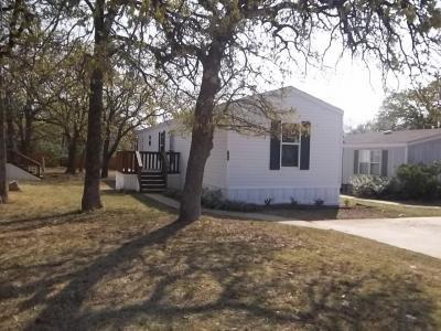 Mobile Home at 5301 E. Mckinney Street, #63 Denton, TX 76208
