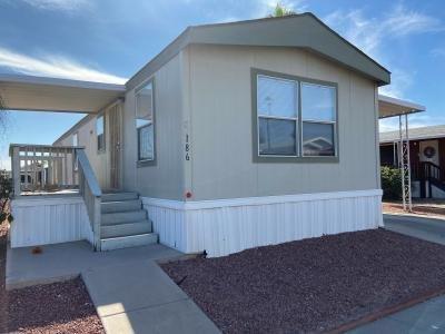Mobile Home at 12721 W Greenway Rd Lot #186 El Mirage, AZ 85335