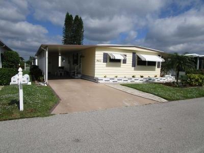 Mobile Home at 963 Nogoya E. Venice, FL 34285