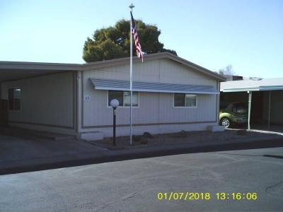 Mobile Home at 10951 N. 91St Ave. Lot#63 Peoria, AZ 85345
