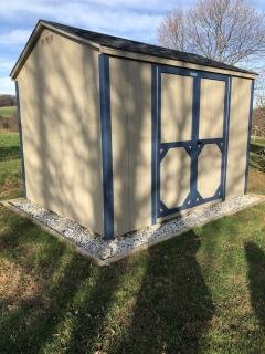 new utility shed