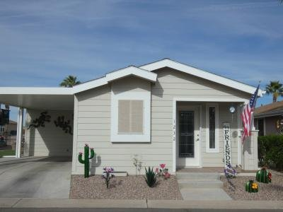 Mobile Home at 1110 North Henness Rd. #1232 Casa Grande, AZ 85122