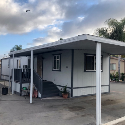 Mobile Home at 400 No. Melrose Vista, CA 92083