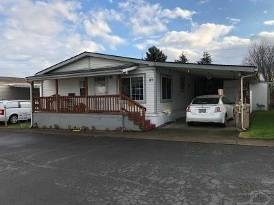 Mobile Home at 18485 SW Pacific Dr #97 Tualatin, OR 97062