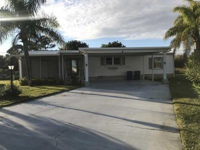 Mobile Home at 6 White Marlin Lane Sebastian, FL 32958