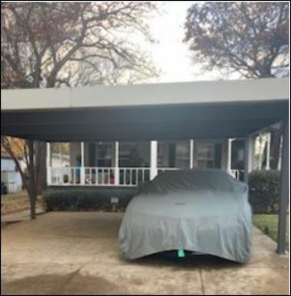 front of home/carport