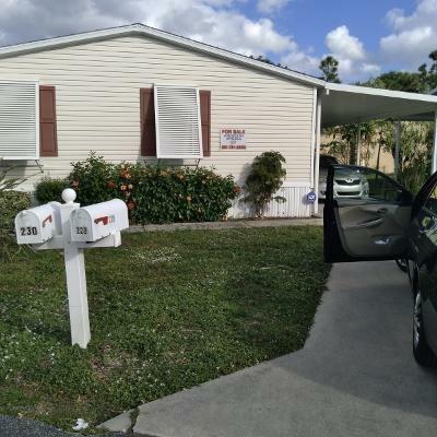 Mobile Home at 230 Fall Circle Palm Beach Gardens, FL 33410