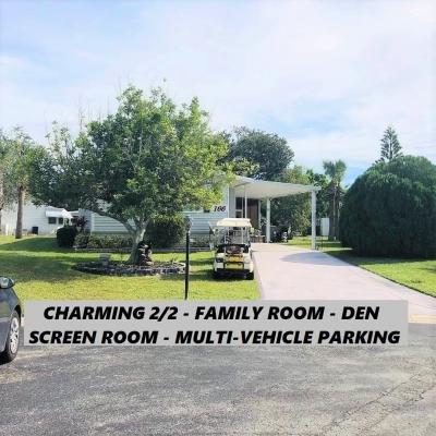 Mobile Home at 166 Dusky Sparrow Drive Vero Beach, FL 32966