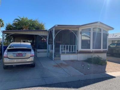 Mobile Home at 8865 E Baseline Rd  #2217 Mesa, AZ 85208