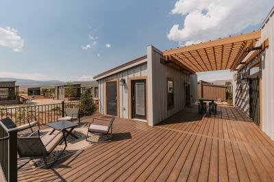 Mobile Home at 1051 Summit Trail #v24 Granby, CO 80446