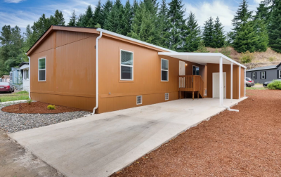 Mobile Home at 74866 Doan Rd #52 Rainier, OR 97048