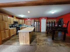 Eat in Kitchen w/ Hickory Cabinets