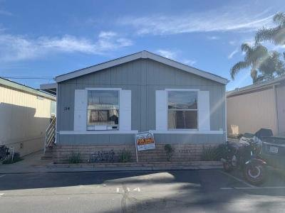 Mobile Home at 2424  W.  First  St. # 134 Santa Ana, CA 92703