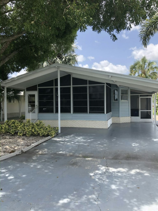 1991 palm Mobile Home For Sale