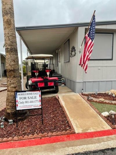 Mobile Home at 9828 E Pueblo #91 Mesa, AZ 85208