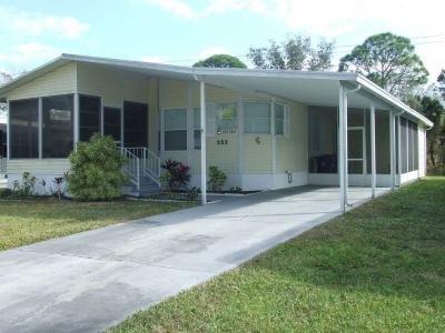 Mobile Home at 352 Bimini Cay Circle Vero Beach, FL 32966