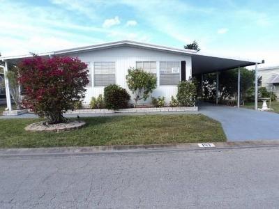 Mobile Home at 7300 20th St.  Lot 187 Vero Beach, FL 32966