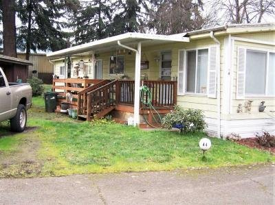 Mobile Home at 1625 Henderson Ave, Sp. #a-4 Eugene, OR 97403