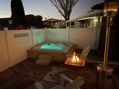 Evenings are magical in the spa by the fire !