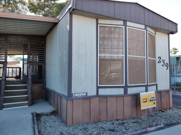1986 Champion Mobile Home For Sale