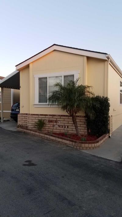 Mobile Home at 1502 Carson St #17 Carson, CA 90745