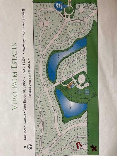 Mobile Home at 1405 82nd Ave, Lot 16 Vero Beach, FL 32966
