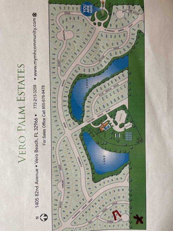 Photo 1 of 2 of home located at 1405 82nd Ave, Lot 16 Vero Beach, FL 32966