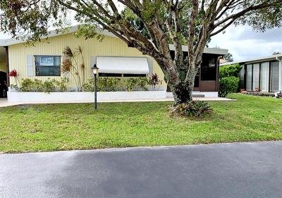 Mobile Home at 724 Sunny South Ave. Boynton Beach, FL 33436