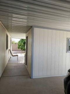 Covered parking and breezeway