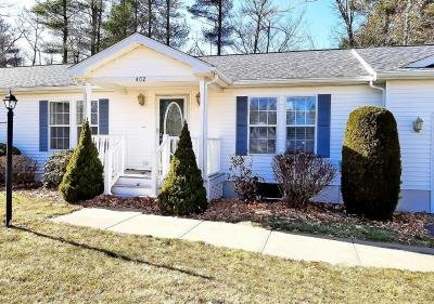 Mobile Home at 402 Crystal Way Middleborough, MA 02346