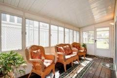 Enclosed Sun Room