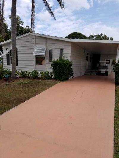 Mobile Home at 8200 E Bitterbush Ln Port Saint Lucie, FL 34952