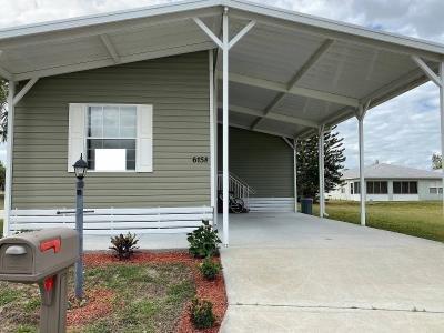 Mobile Home at 6158  Spanish Lakes Boulevard Fort Pierce, FL 34951