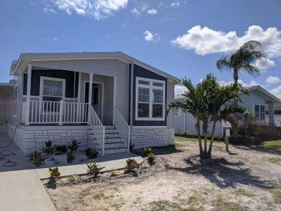 Mobile Home at 370 Dolphin Cir Barefoot Bay, FL 32976